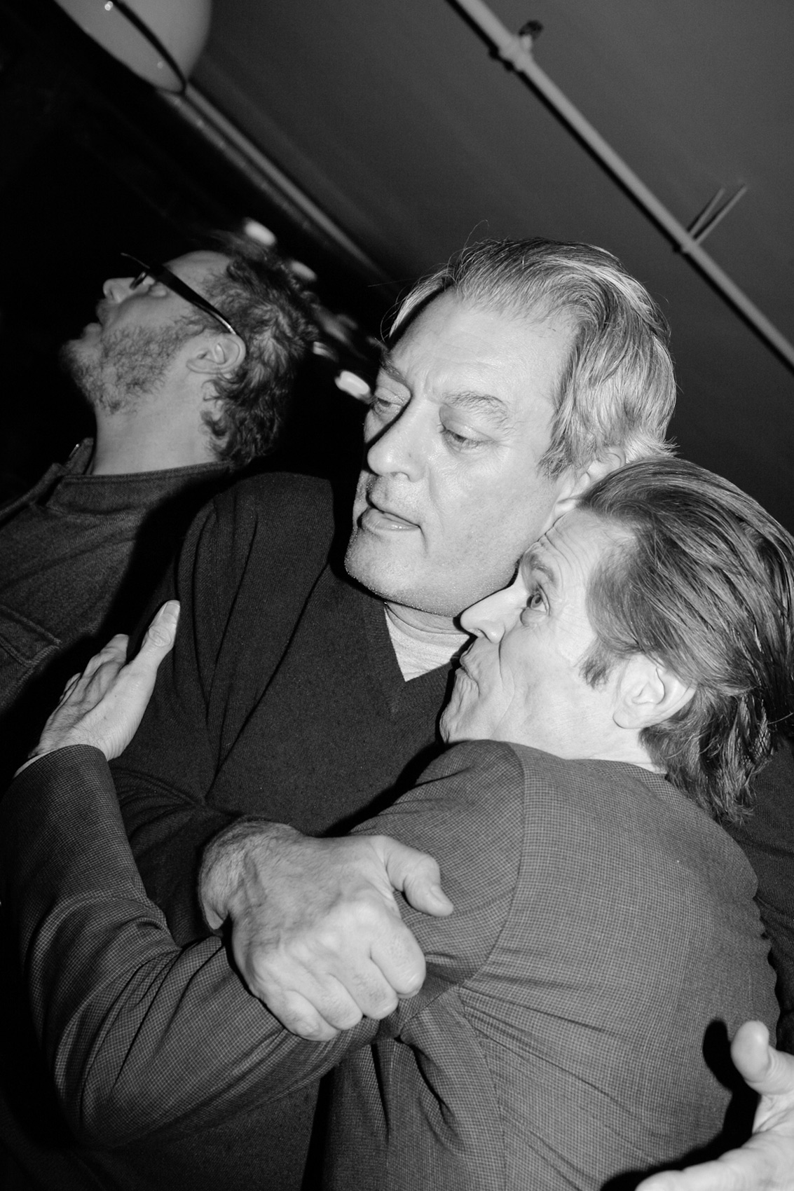 Paul Auster and Willem Dafoe